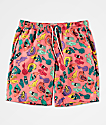 Empyre Grom Hand Coral Board Shorts