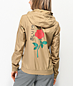 Empyre Keana Rose Tan Windbreaker Jacket