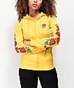 Empyre Keana Rose chaqueta cortavientos amarilla
