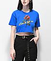 Empyre Kipsy Love2HateMe Blue Crop T-Shirt