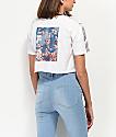 Empyre Kipsy camiseta corta blanca con cinta