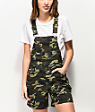 Empyre Maddie Camo Overall Shorts