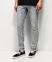 Empyre Recoil Light Blue Acid Wash Super Skinny Jeans