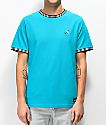Empyre Ringo Teal Pique Knit T-Shirt