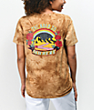 Empyre Sloane Road To Nowhere Brown Tie Dye T-Shirt