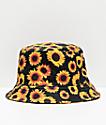 Empyre Sunflower sombrero de cubo negro