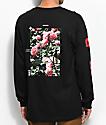 Empyre Vertigo Rose Black Long Sleeve T-Shirt