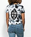 Empyre Yohanna Low Key camiseta tie dye negra