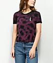 Empyre Yohanna Rose Purple Tie Dye T-Shirt