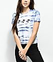 Empyre Yohanna Roses Blue Tie Dye T-Shirt