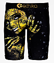 Ethika Stay Gold calzoncillos bóxer negros