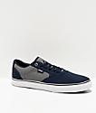 Etnies Blitz Navy & Grey Skate Shoes