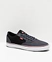 Etnies Blitz zapatos de skate grises y negros