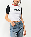 FILA Anna White Crop T-Shirt