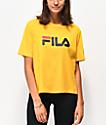 FILA Miss Eagle camiseta dorada