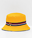 FILA Reversible Yellow Bucket Hat