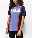 FILA Victoire camiseta azul