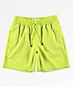 Fairplay Boardy shorts de baño en verde neón