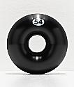 Form 54mm ruedas de skate negras