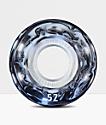 Form Dualite White and Black Swirl 52mm Skateboard Wheels