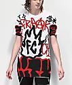 Freak City Graffiti White T-Shirt