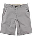 Free World Discord Grey Chino Shorts