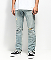 Free World Messenger Westport Ripped Skinny Jeans