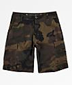 Free World Smashing shorts híbridos de camuflaje