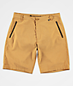 Free World Ultraist Yellow Tech Hybrid Shorts