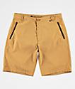 Free World Ultraist shorts híbridos amarillos