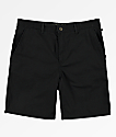 Free World Walker shorts chinos negros