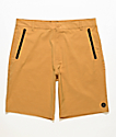 Freeworld Classified Gold Hybrid Shorts