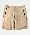 Freeworld Classified Khaki Hybrid Shorts
