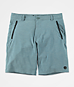 Freeworld Classified Teal Hybrid Shorts