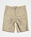 Freeworld Discord Light Khaki Chino Shorts