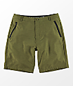 Freeworld Maverick Olive Hybrid Shorts