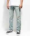 Freeworld Messenger Westport jeans ajustados desgastados