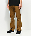 Freeworld Night Train Tobacco Twill Pants