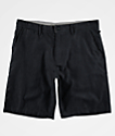 Freeworld Walker Heather Black Chino Shorts