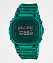 G-Shock DW5600 Clear Green Digital Watch