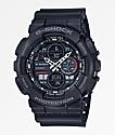 G-Shock GA140-1A1 reloj negro y gris