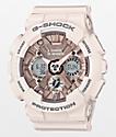 G-Shock GMAS120MF-7A2P reloj en rosa clara y dorado