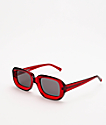 GLVSS The Crush gafas de sol rojas transparentes
