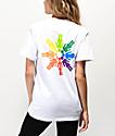 Girl Rainbow OG camiseta blanca