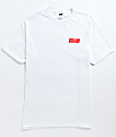 Girls Are Awesome White & Red T-Shirt