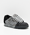 Globe Sabre Dark Grey, Grey & Black Skate Shoes