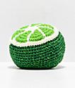 Guatemalart Lime Crochet Hacky Sack
