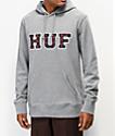 HUF Academia sudadera con capucha gris