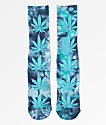 HUF Plantlife Crystal Blue Washed Crew Socks