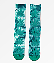 HUF Plantlife Deep Jungle Tie Dye Crew Socks